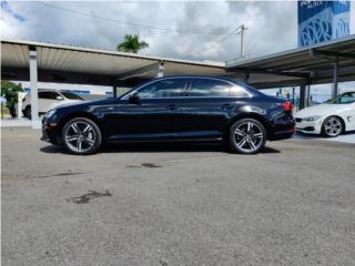 Audi 2017 A4 2.0T Quattro negro, Audi Puerto Rico