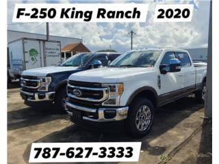 250 KING RANCH RUBIE RED DIESEL 2020 , Ford Puerto Rico