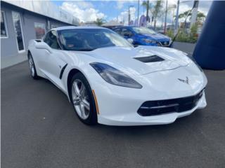 Corvette 3LT Artíc White , Chevrolet Puerto Rico