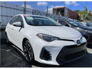 TOYOTA COROLLA XSE 2017 CON SUN ROOF , Toyota Puerto Rico