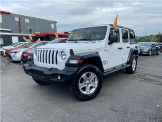 Jeep Wrangler Unlimited Sport 2020, Jeep Puerto Rico