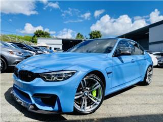 BMW M3 - 2018 Jas Marina Blue Metallic, BMW Puerto Rico