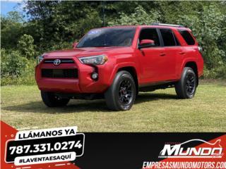 TOYOTA 4RUNNER 2020  **11K MILLAS**, Toyota Puerto Rico