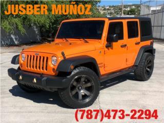 JEEP WRANGLER UNLIMITED! CUSTOM !, Jeep Puerto Rico