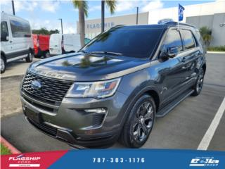 Ford Explorer SPORT 2018 Gris oscuro Piel, Ford Puerto Rico