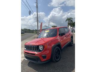 Jeep Renegade 2019 roja, Jeep Puerto Rico