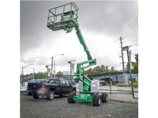 2014 Genie (Jirafa) Articulada 4X4 Diésel 45', Equipo Construccion Puerto Rico