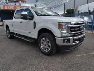 Ford F-250 2021 Lariat blanco, Ford Puerto Rico