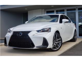 Lexus IS 300 2020 *Garantia 7/100*, Lexus Puerto Rico