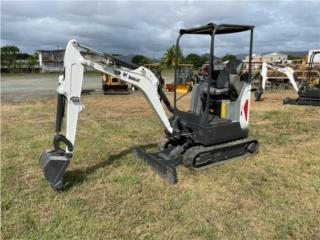 2016 Bobcat E20, Equipo Construccion Puerto Rico