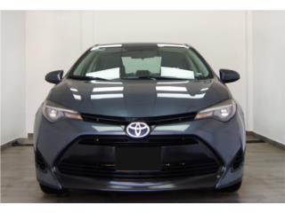 2017 Toyota Corolla, Toyota Puerto Rico