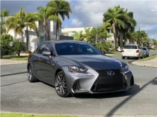 Lexus IS TURBO F-SPORT 2017 $499 mens, Lexus Puerto Rico