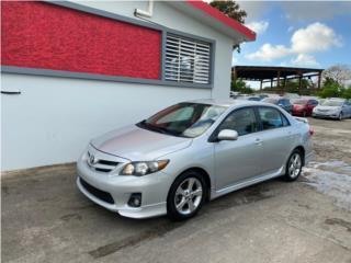 Toyota Corolla S 2013 aut importado., Toyota Puerto Rico