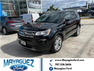 Ford Explorer 2018, Ford Puerto Rico