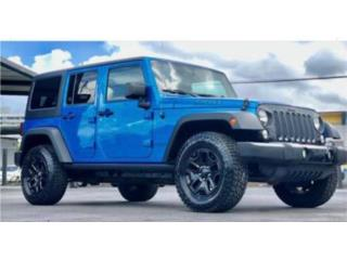 JEEP WILLYS 2016, Jeep Puerto Rico