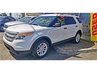 FORD EXPLORER XLS '2015 3 LINES DE ASIENTOS, Ford Puerto Rico