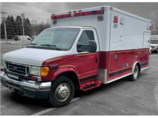 AMBULANCE 2007 FORD MEDTEC E450 DIESEL 47661, Ford Puerto Rico