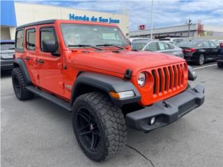 JEEP WRANGLER 2020! SOLO 5K MILLAS!NEGOCIABLE, Jeep Puerto Rico