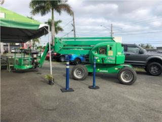 BOOM LIFT 45 PIES DIESEL ARTICULADO 45 PIES, Equipo Construccion Puerto Rico