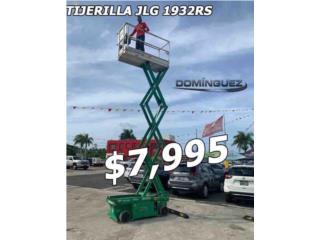TIJERILLA JLG 30 PIES ELECTRICA, Equipo Construccion Puerto Rico