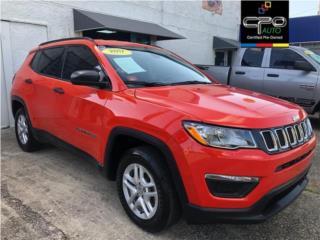 ??JEEP COMPASS SPORT 2017??  ?4Cil. Push botton, Jeep Puerto Rico