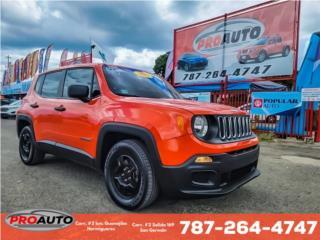 JEEP RENEGADE 2017 NITIDA!, Jeep Puerto Rico