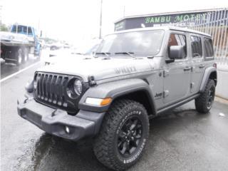 WRANGLER WILLY 4X4 COMO NUEVO!, Jeep Puerto Rico