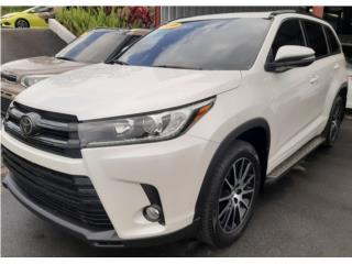 Toyota Highlander V6 SE  2018, Toyota Puerto Rico