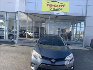 2014 TOYOTA COROLLA COMO NUEVO, Toyota Puerto Rico