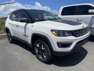 2018 JEEP COMPASS TRAILHAWK 4X4 COMO NUEVA , Jeep Puerto Rico