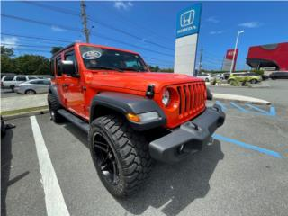 Jeep Wrangler UNLIMITED SPORT 2020 EXTRAS! , Jeep Puerto Rico