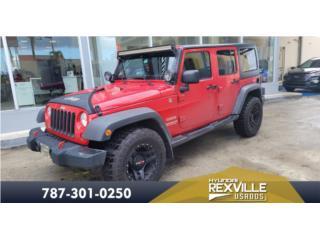 2012 JEEP WRANGLER SPORT , Jeep Puerto Rico