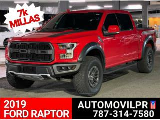 2019 FORD RAPTOR SOLO 7K MILLAS, Ford Puerto Rico