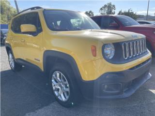 RENEGADE 2016 4X4 LATITUDE DESDE $269 MENSUAL, Jeep Puerto Rico