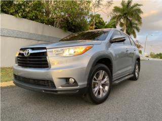 Highlander XLE PLUS 2015 Como nueva, Toyota Puerto Rico