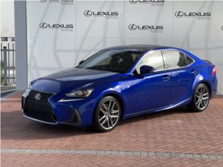 IS 300 / F-Sport / 2018 / Certificado, Lexus Puerto Rico