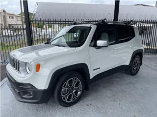 2016 JEEP RENEGADE LIMITED 4X2, Jeep Puerto Rico