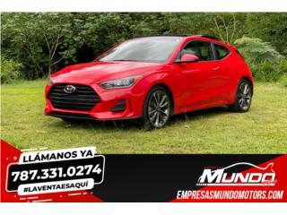 HYUNDAI VELOSTER 2019  **2.0-RACING**, Hyundai Puerto Rico
