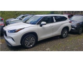 HIGHLANDER PLATINUM 2021/GARANTIA DE POR VIDA, Toyota Puerto Rico