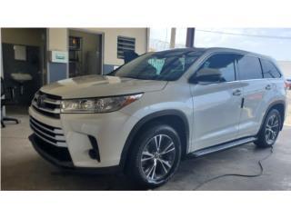 TOYOTA HIGHLANDER 2017 SOLO 4,900 MILLAS , Toyota Puerto Rico