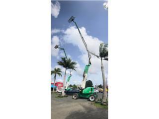 JLG GRUA BOOM LIFT ARTICULADO DIESEL 60 PIES, Equipo Construccion Puerto Rico