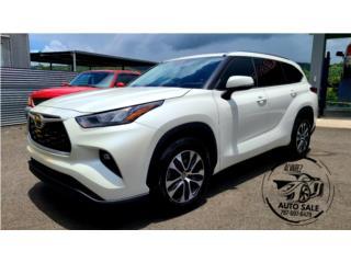 TOYOTA HIGHLANDER XLE PLUS 2020 IMPORTADA, Toyota Puerto Rico