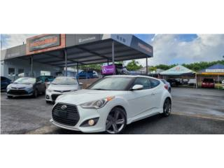HYUNDAI/VELOSTER/TURBO/PADLE-SHIFT/GARANTÍA , Hyundai Puerto Rico