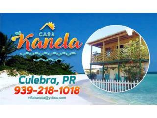 Casa Kanela, su casa de playa en Culebra Puerto Rico