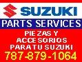 Suzuki Parts and Services