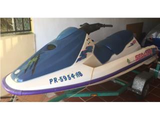Jet ski Bombardier 1996, listo pal agua!!! Puerto Rico