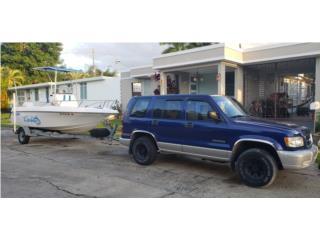 Wellcraft 19' y Guagua Isuzu Trooper 4 x4  Puerto Rico