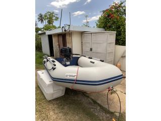 Boats Dingui 9 pies con motor 4 Stroke  Puerto Rico