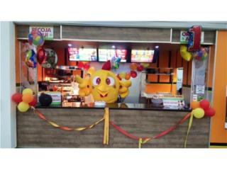 Franquicia de Fastfood Aguadill Mall $16,000, Aguadilla Real Estate Puerto Rico