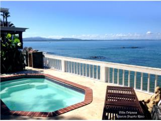 Beach Villa, 1 acre, 3 houses, 7 bedrooms, Rinc�n Real Estate Puerto Rico